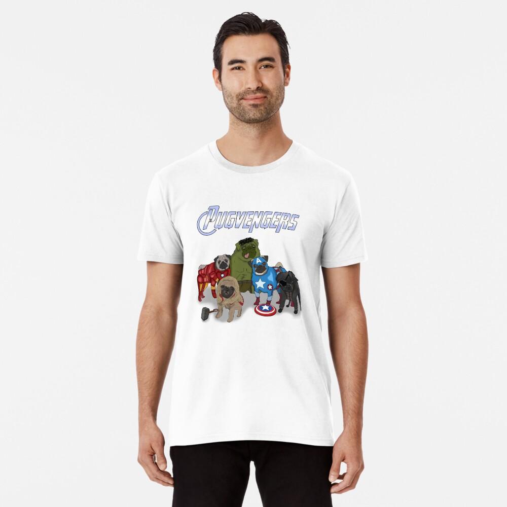 Los Pugvengers Camiseta premium
