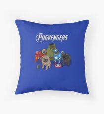 The Pugvengers Floor Pillow