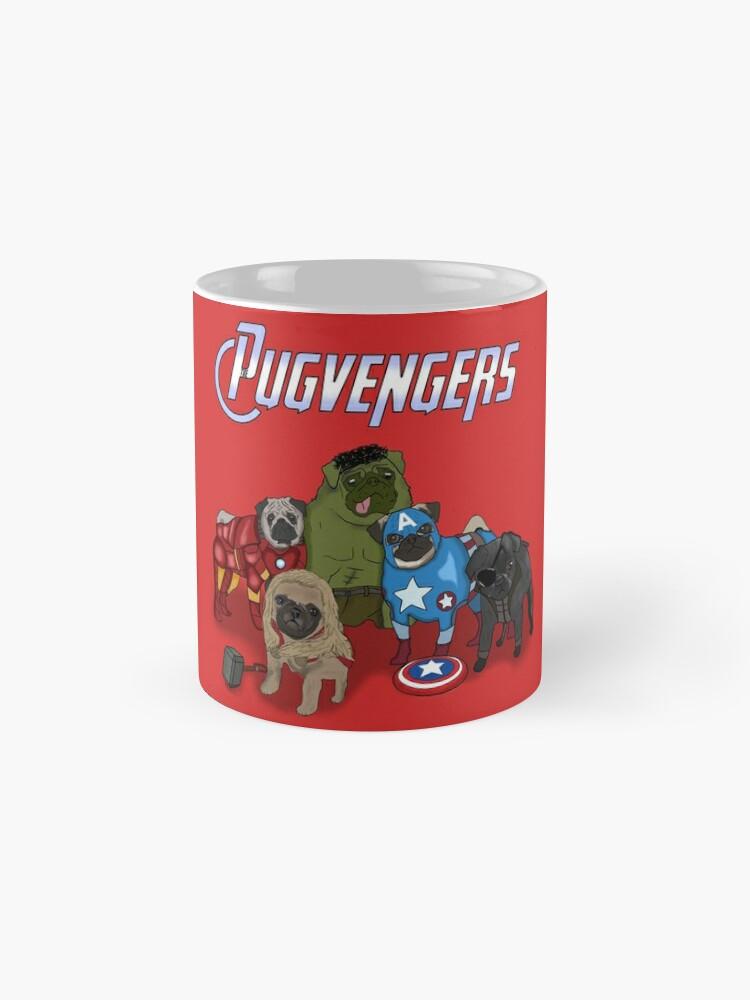 Vista alternativa de Tazas Los Pugvengers