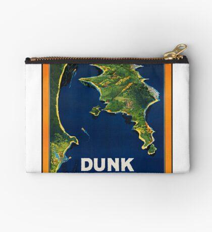 Dunk Australia Vintage Travel Advertisement Art Poster Zipper Pouch