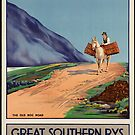 Rys Poland Vintage Travel Advertisement Art Poster by jnniepce