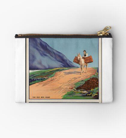Rys Poland Vintage Travel Advertisement Art Poster Zipper Pouch