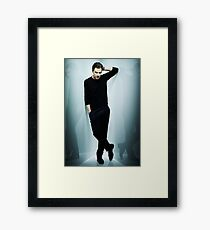 Benedict Cumberbatch - Poster & Iphone Case Framed Print