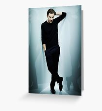 Benedict Cumberbatch - Poster & Iphone Case Greeting Card