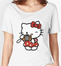 Hello Kitty  Women's Relaxed Fit T-Shirt