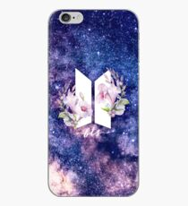 BTS-Galaxie-Blumen iPhone-Hülle & Cover