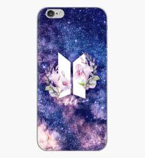 Vinilo o funda para iPhone BTS Galaxy Flowers