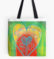Bolsa de tela House of Belonging_Illuminated Heart