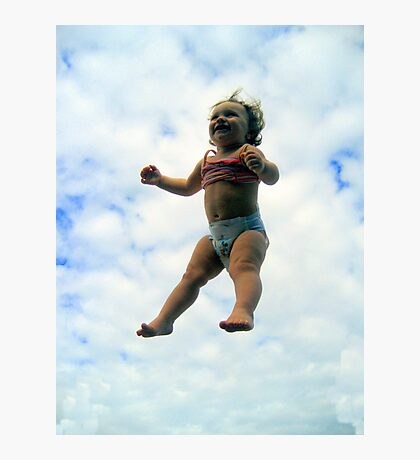 I can FLY!! Photographic Print