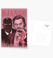 Django Unchained  Postcards