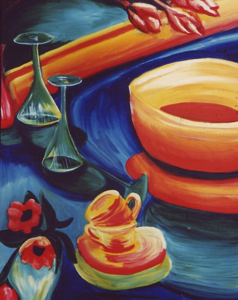 Mystic Luncheon by Jill Mattson