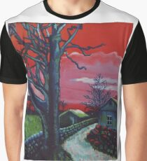 Mystic Grassland Graphic T-Shirt
