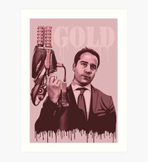 Ari Gold Entourage Art Print