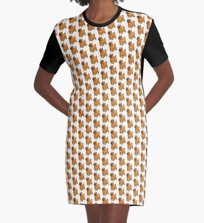 Brussels Griffon Graphic T-Shirt Dress