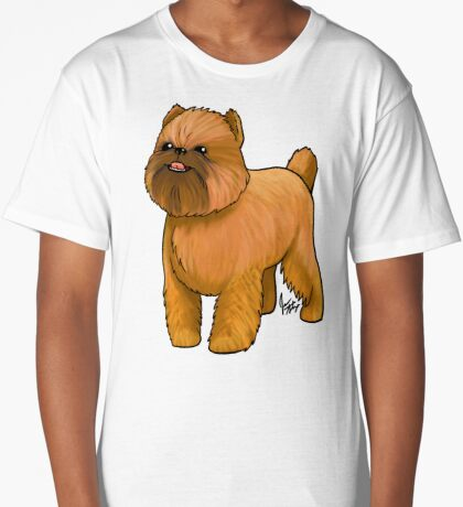 Brussels Griffon Long T-Shirt