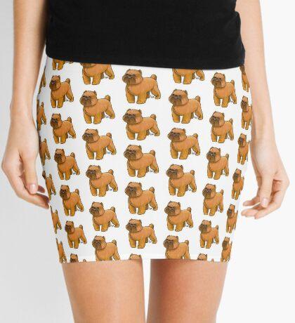 Brussels Griffon Mini Skirt