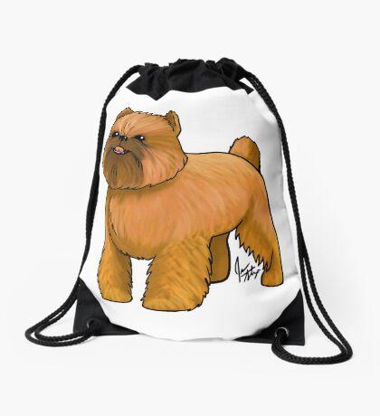 Brussels Griffon Drawstring Bag