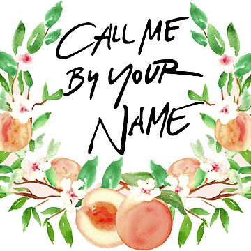 Call Me By Your Name Peach by LeilaCCG