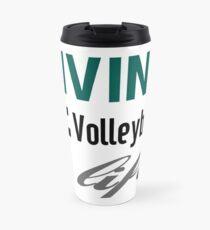 Living The Volleyball Life Travel Mug