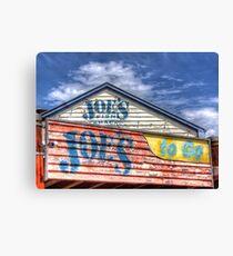 Joe`s To Go - HDR- Fremantle WA Canvas Print