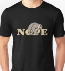 Sloth Nope Not Today Lazy Procrastination Animal Spirit Adorable College Life Cute Uncanny Smile T-Shirt Sweater Hoodie Iphone Samsung Phone Case Coffee Mug Tablet Case Gift T-Shirt