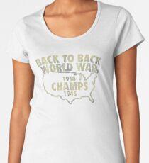 Back To Back World War Champs JM273 Trending Women's Premium T-Shirt
