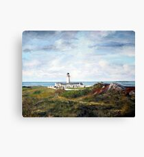 Langness Lighthouse, Isle of Man Canvas Print