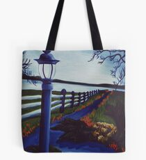 Garden on the Lake Tote Bag