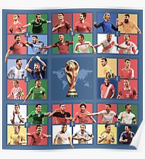 World Cup Russia 2018 - Groups Poster