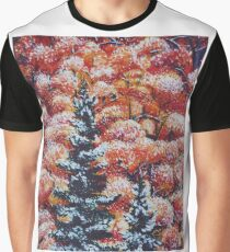 Harmony Between Fall and Winter Graphic T-Shirt