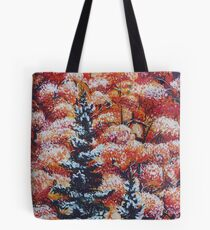Harmony Between Fall and Winter Tote Bag
