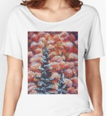 Harmony Between Fall and Winter Women's Relaxed Fit T-Shirt