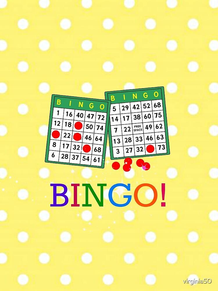 Bingo! Bingo cards and chips by virginia50