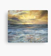 Sunrise over Langness, Isle of Man Canvas Print