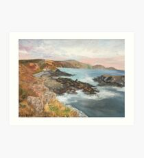 Niarbyl Bay, Isle of Man Art Print