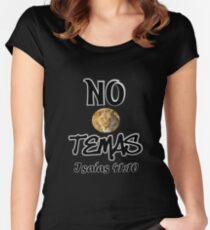 No temas Isaías 41:10 Women's Fitted Scoop T-Shirt