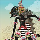Wayang or shadow Puppet by Jatmika Jati