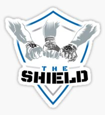 The Shield (Triple H) Dark Blue-Black [Available in 10 colors] Sticker