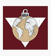 Down to Earth Ornament Photographic Print