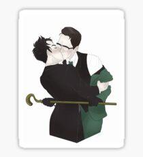 Nygmobblepot kiss Sticker