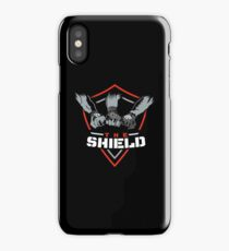 The Shield (Triple H) Red-White [Available in 10 colors] iPhone Case/Skin