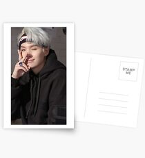 BTS Suga Postcards