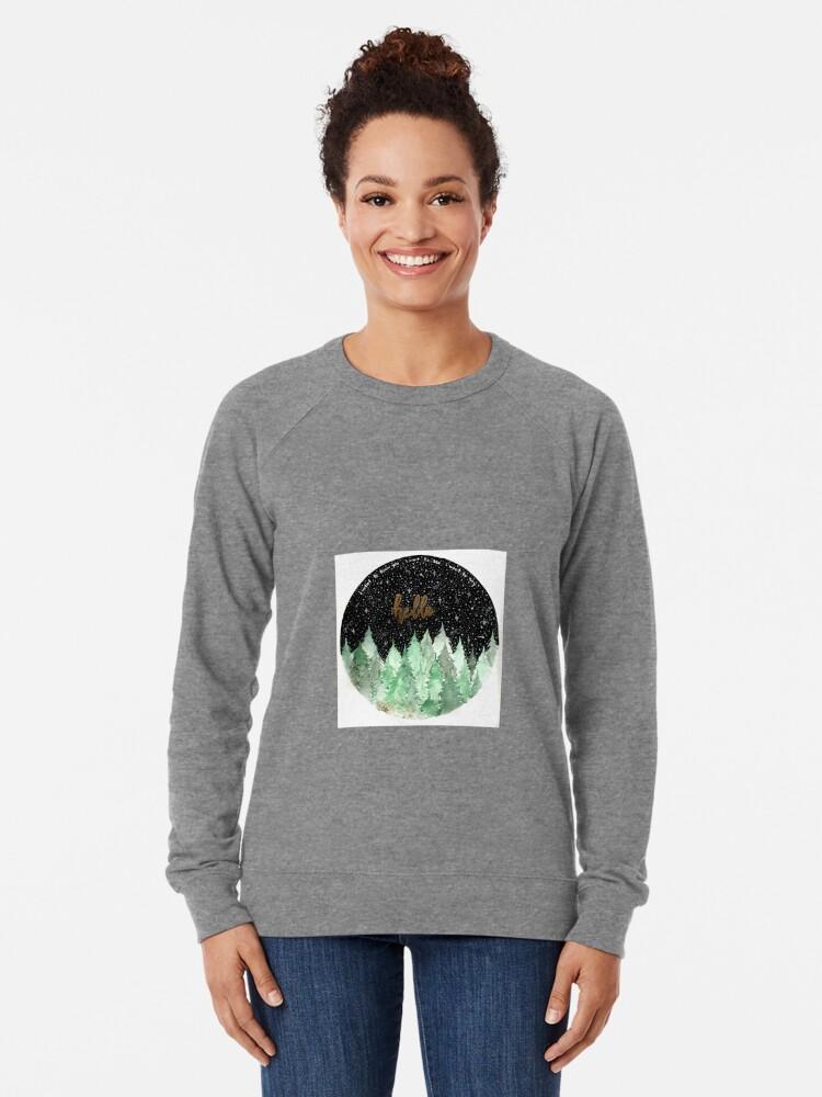 Alternative Ansicht von Bäume Leichter Pullover