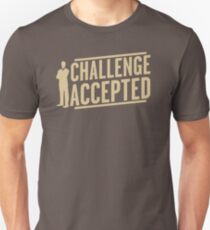 Challenge Accepted VJ466 New Product T-Shirt