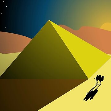 Camel Pyramid by jgarnas