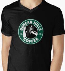 Duncan Hills Coffee Men's V-Neck T-Shirt