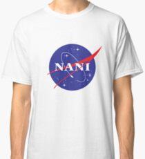 Camiseta clásica Logotipo de NANI NASA