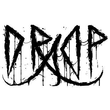 Drop A Records - Black Logo by DropARecords