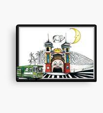 Luna Park Melbourne Canvas Print