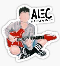Alec Benjamin Sticker (his filter)  Sticker